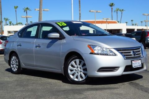 Certified Pre-Owned 2013 Nissan Sentra FE+ S FWD 4D Sedan