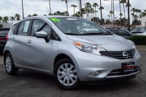 Certified Pre-Owned 2015 Nissan Versa Note S Plus FWD 4D Hatchback
