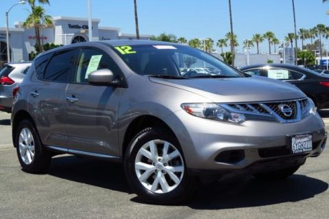 Certified Pre-Owned 2012 Nissan Murano S FWD 4D Sport Utility